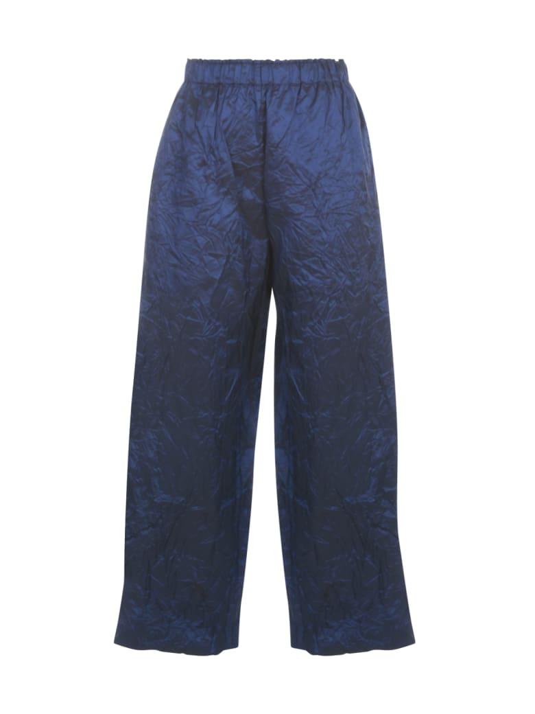 Daniela Gregis Pigiama 100% Silk Slim Pants - Br Royal Blue