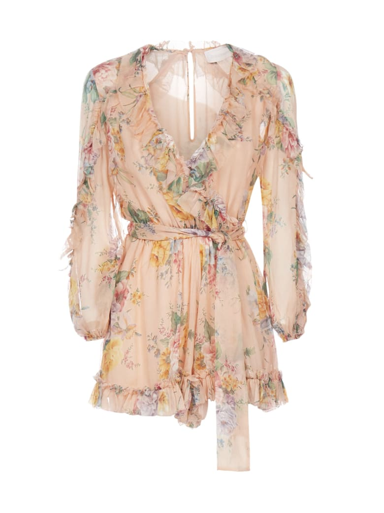 Zimmermann Dress - Coral floral