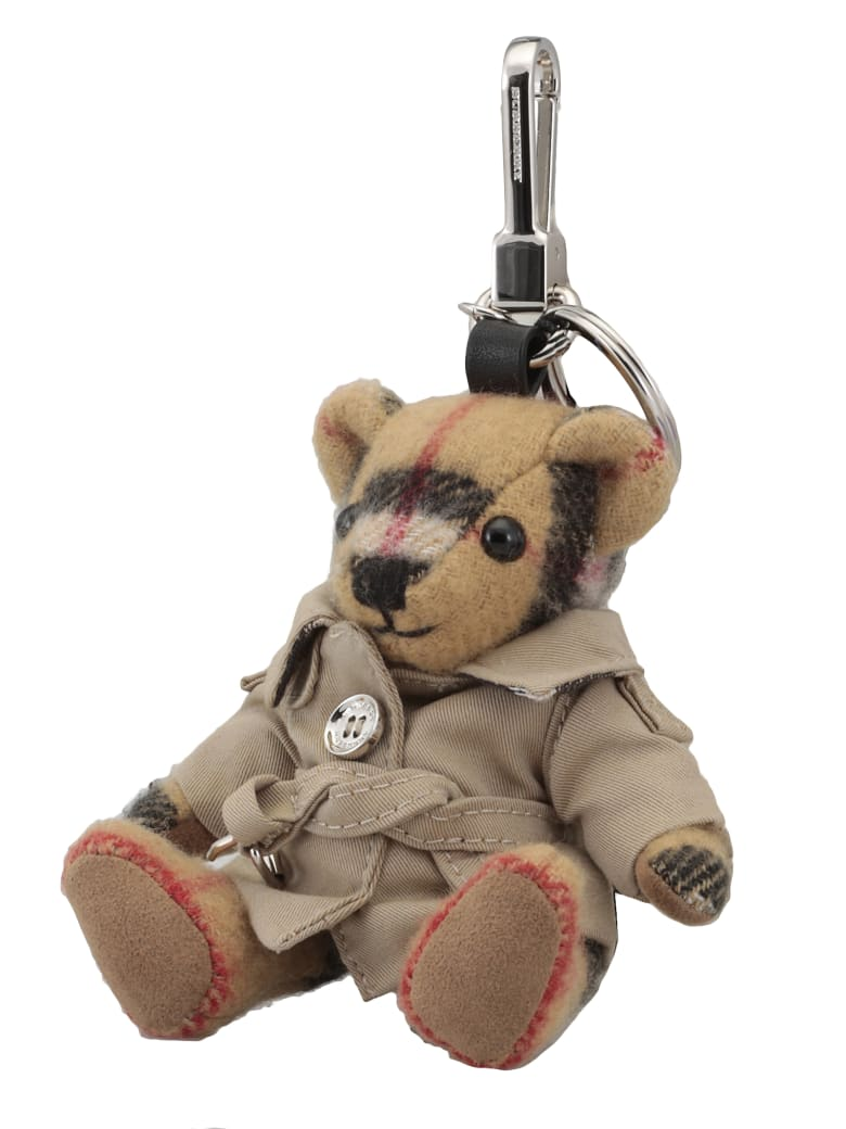 Burberry Thomas Bear Charm Keychain - ANTIQUE YELLOW