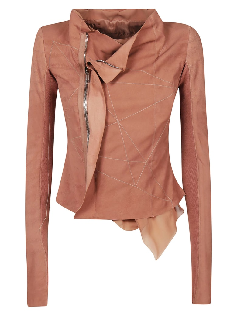 Rick Owens Fitted Zip Jacket - pink