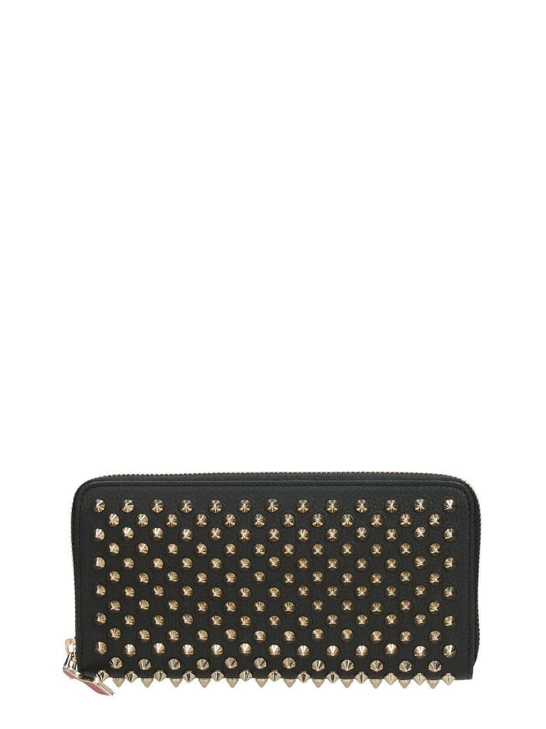 Christian Louboutin Panettone Zipped Continental Wallet - black