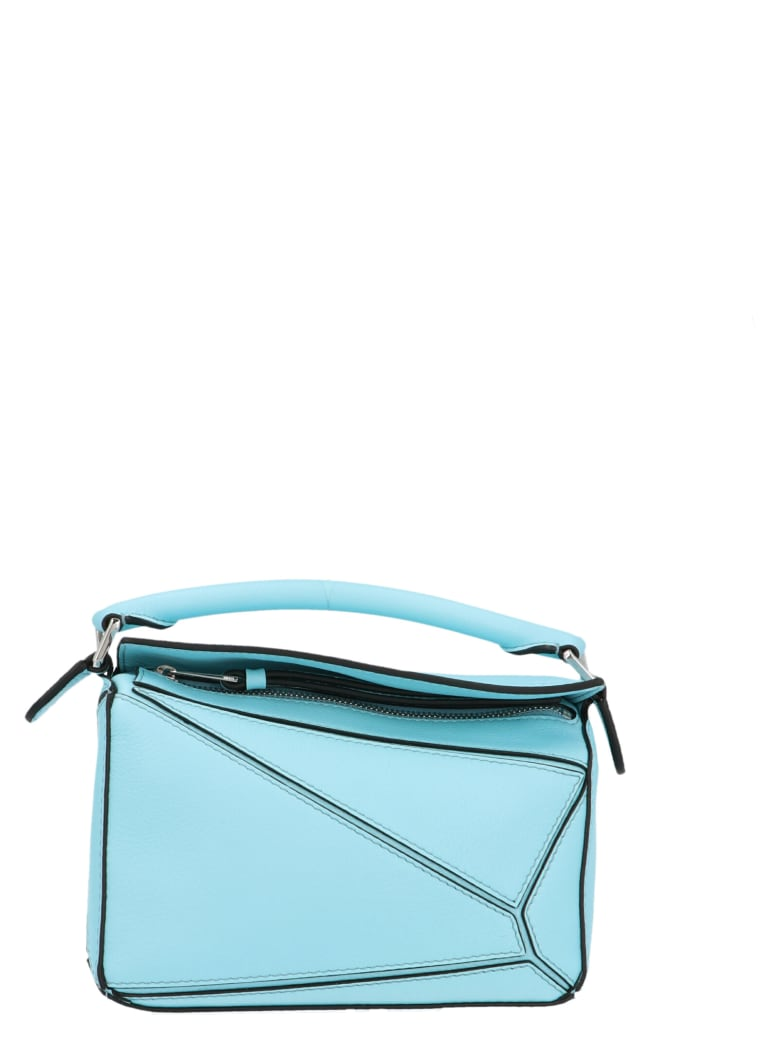 Loewe 'puzzle' Bag - Light blue