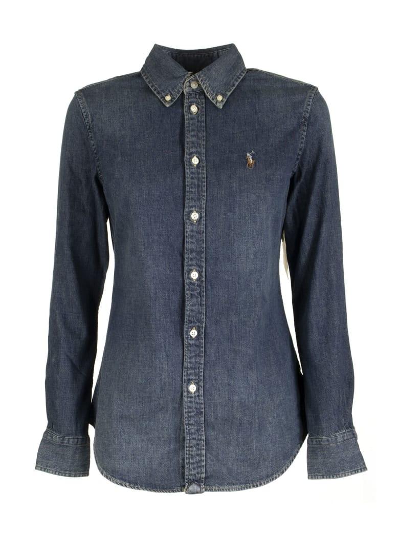 Ralph Lauren Custom-fit Denim Shirt - Blaine Wash