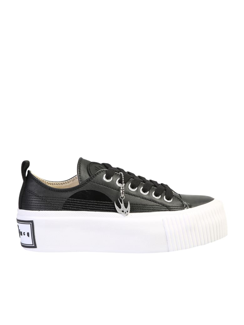McQ Alexander McQueen Plimsoll Sneakers - Black