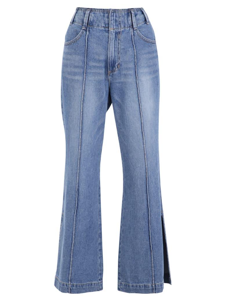 SJYP Flared Jeans - Blue