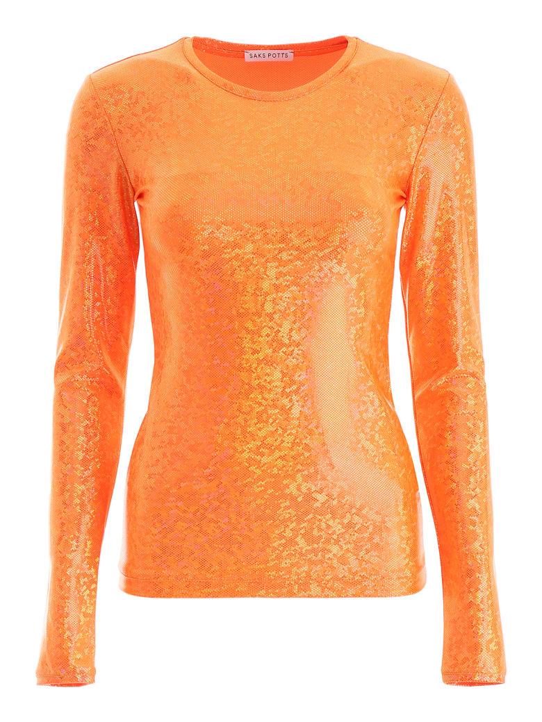 Saks Potts Saya Top - ORANGE SHIMMER (Orange)