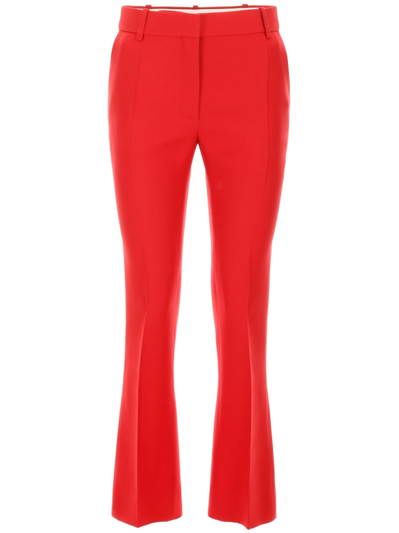 Valentino Formal Trousers - ROSSO (Pink)