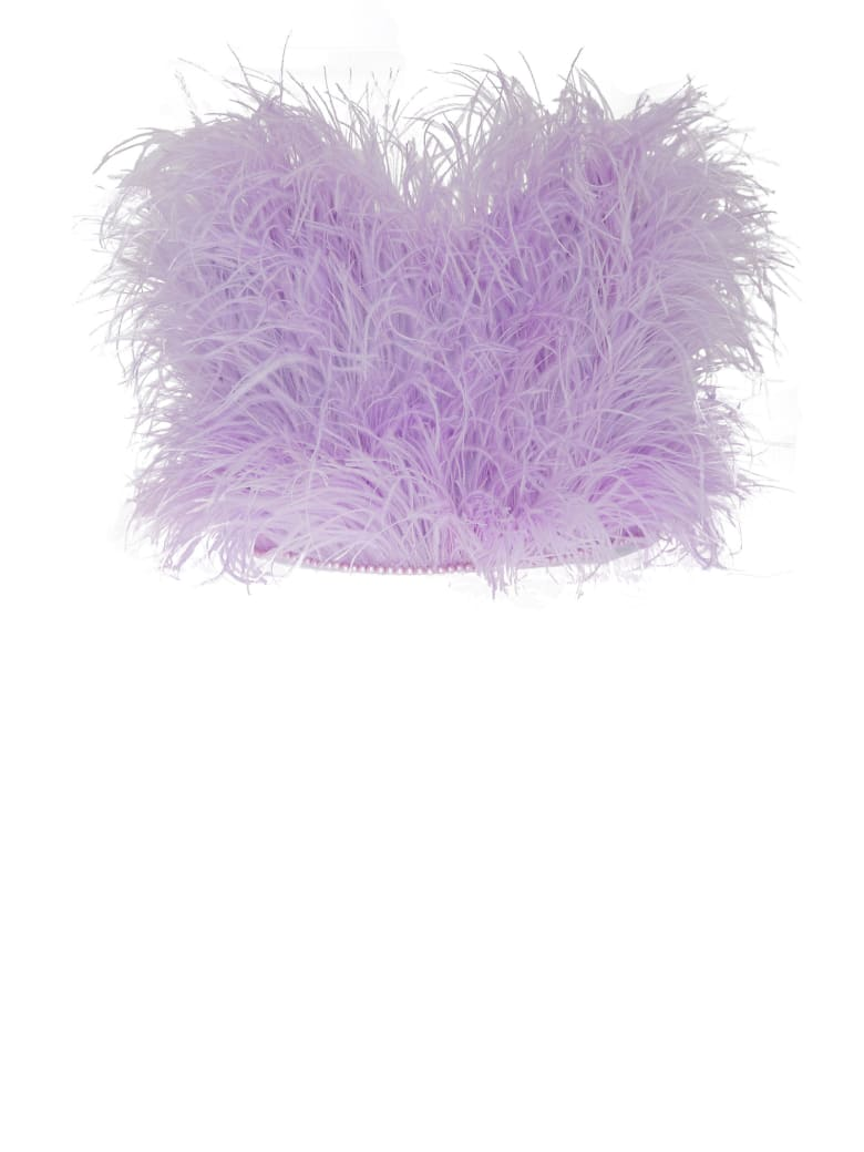 The Attico Elsa Top - Lilac
