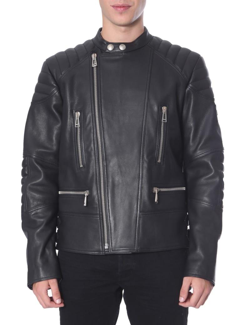 Belstaff Leather Jacket - NERO