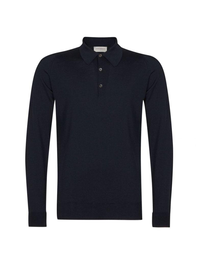 John Smedley Dorset Shirt Ls - Midnight