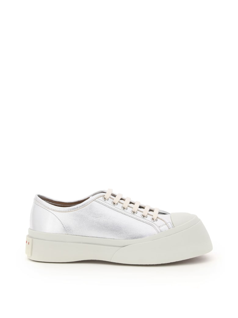 Marni Pablo Laminated Leather Sneakers