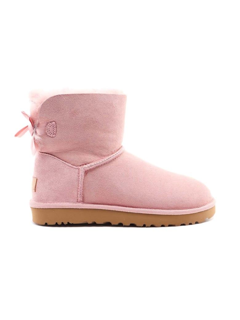UGG Bailey Bow - Pink Crystal