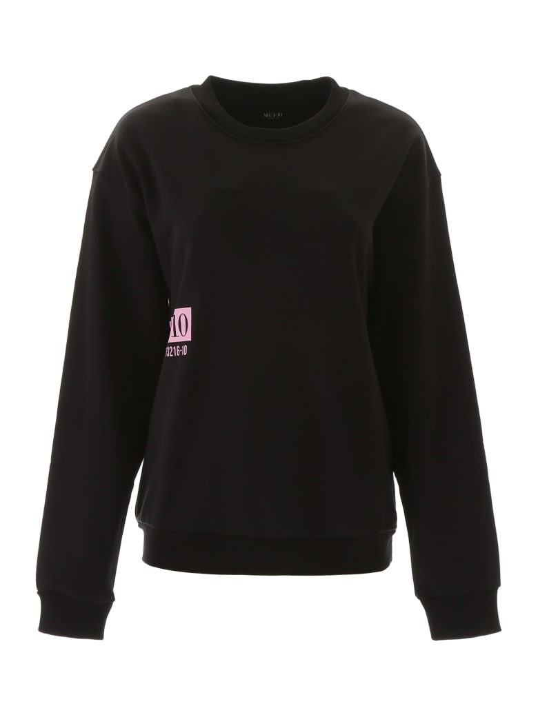 MUF10 Moon Map Sweatshirt - BLACK (Black)