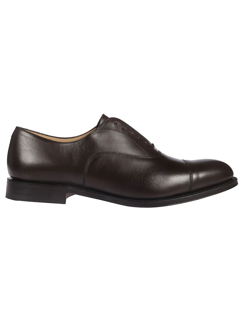 Church's Classic Lace Up Shoes - ebony