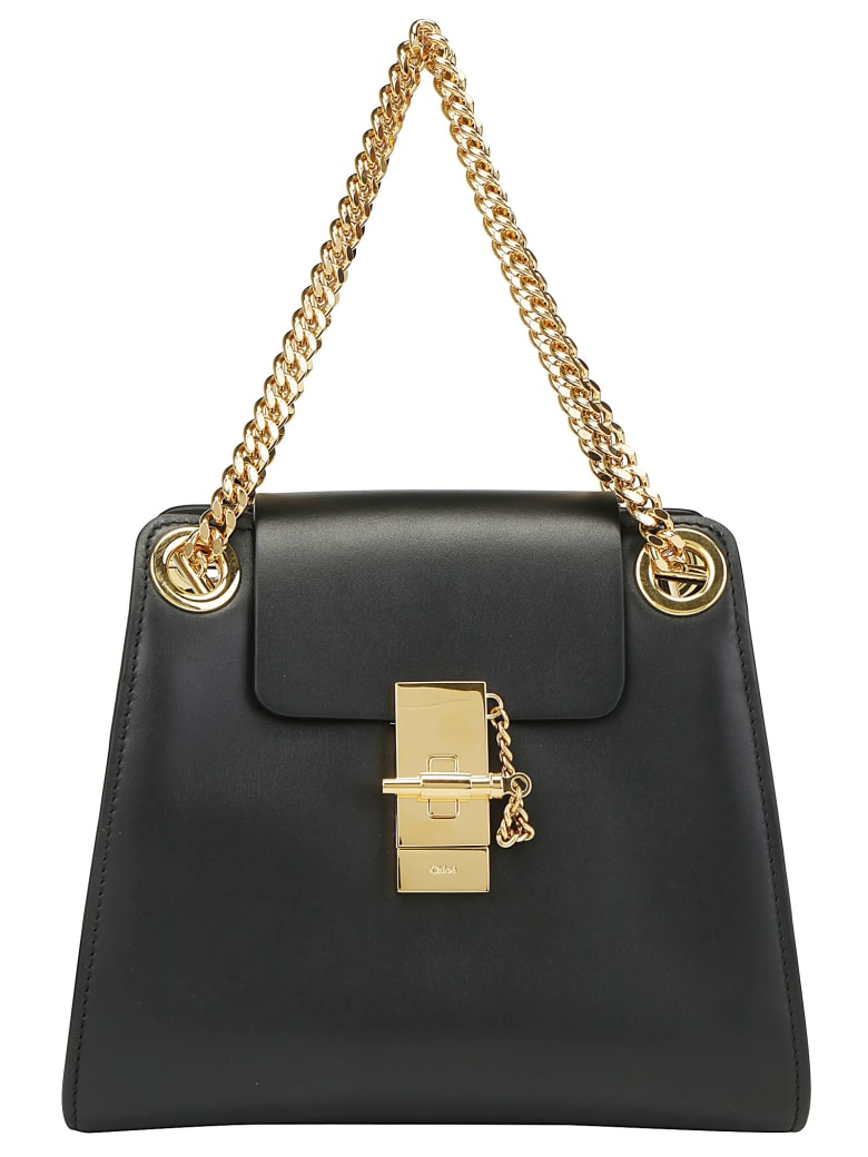 Chloé Annie Shoulder Bag - Black