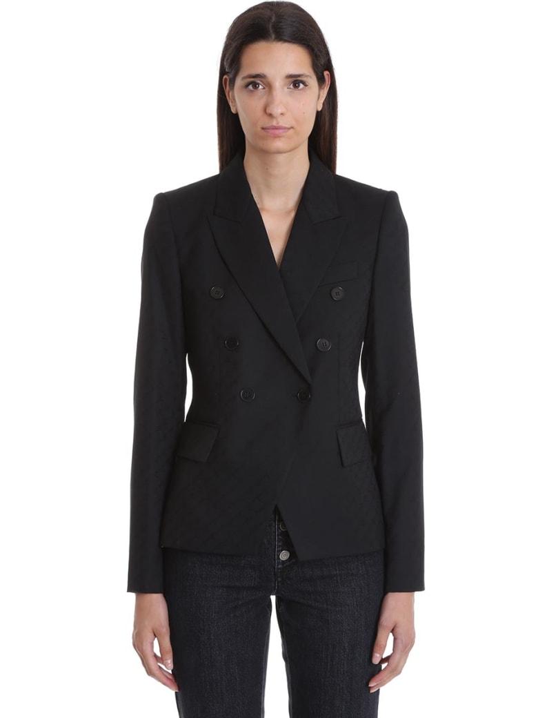 Stella McCartney Robin Jacket In Black Wool - black