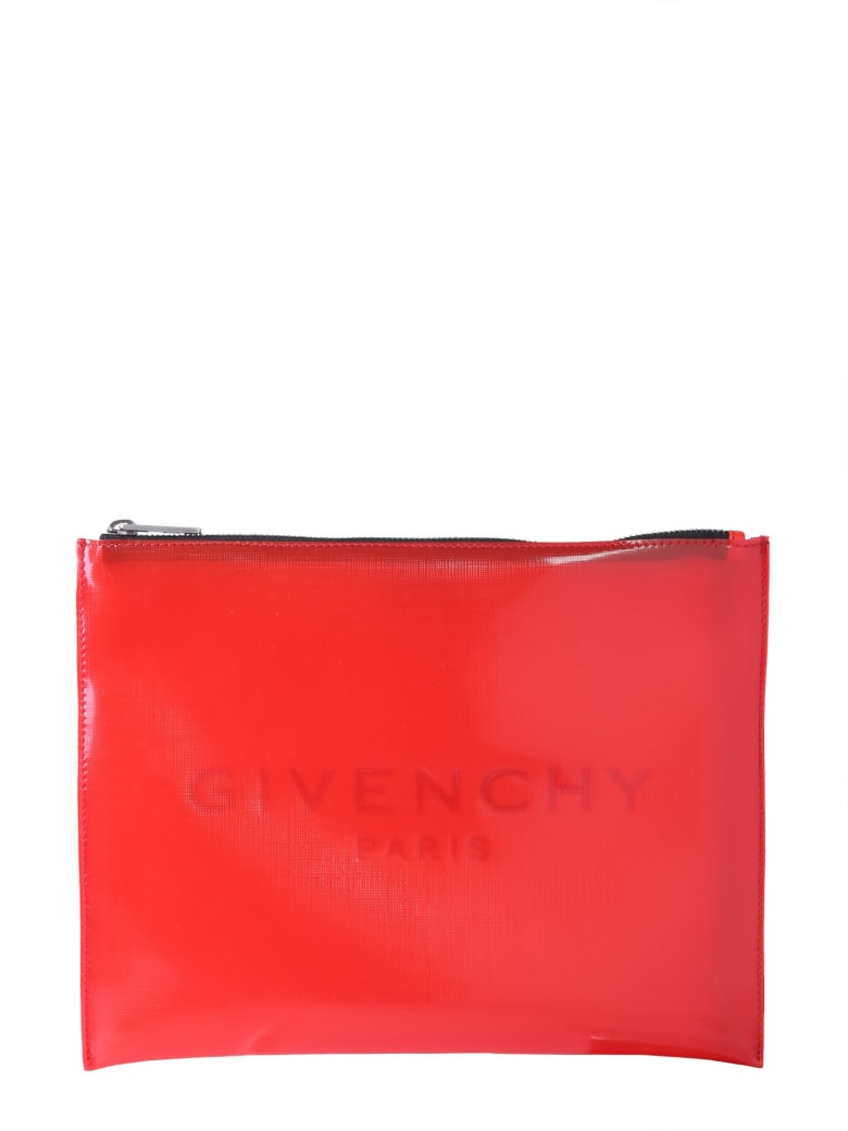 Givenchy Large Pouch - ROSSO