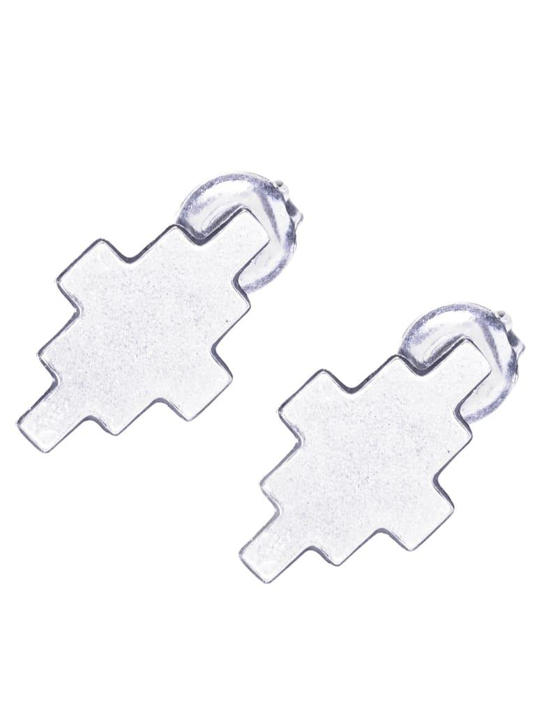 Marcelo Burlon Cross Earrings - Silver