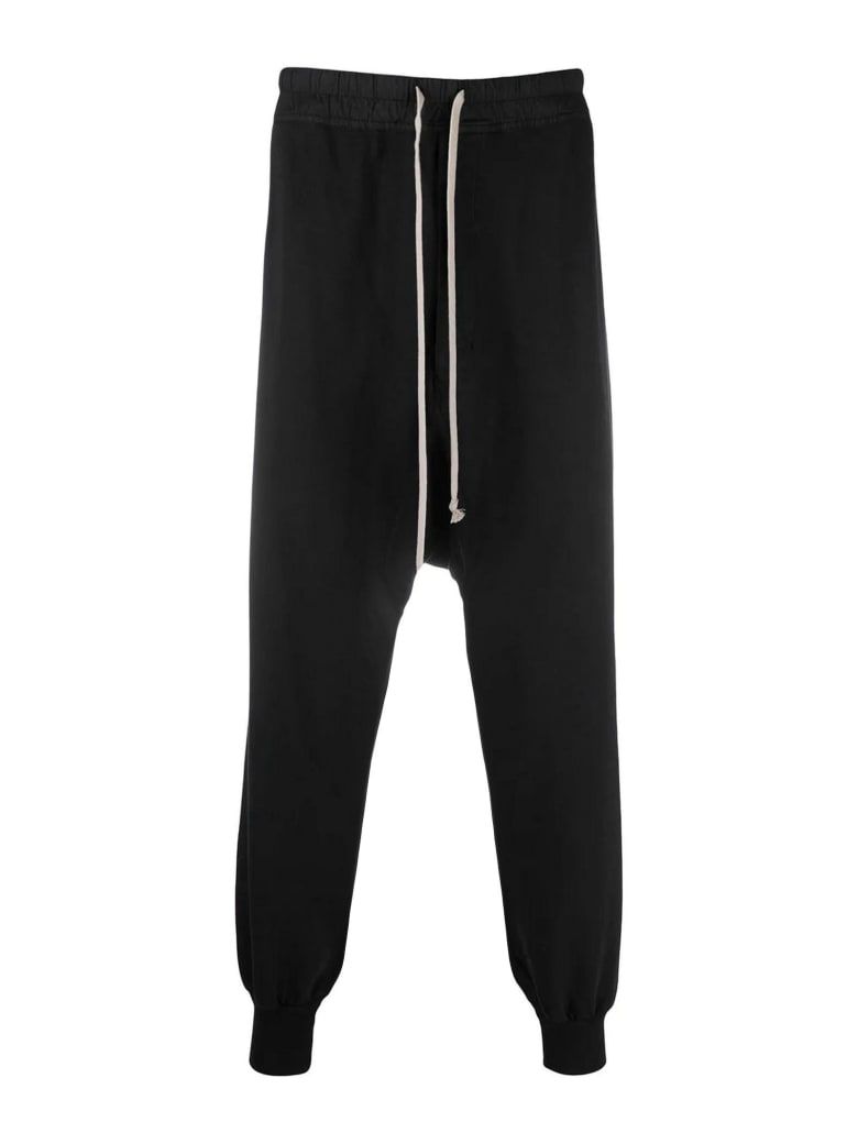 DRKSHDW Black Cotton Trousers - Nero