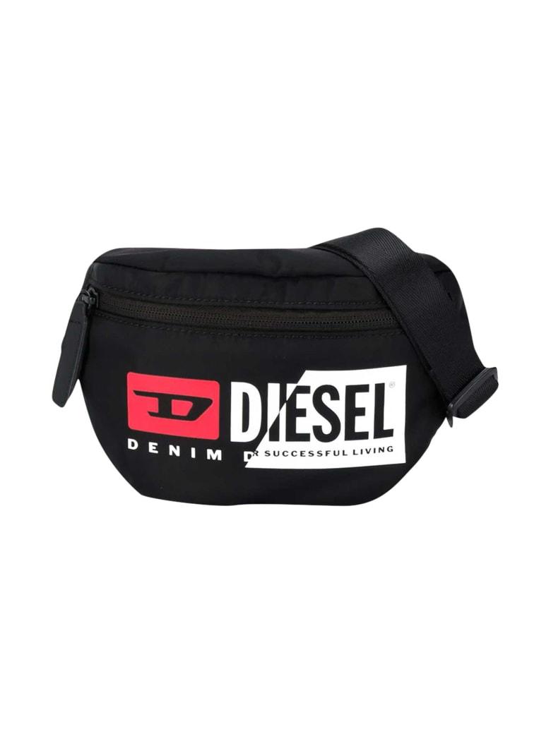 Diesel Black Belt Bag - Nera