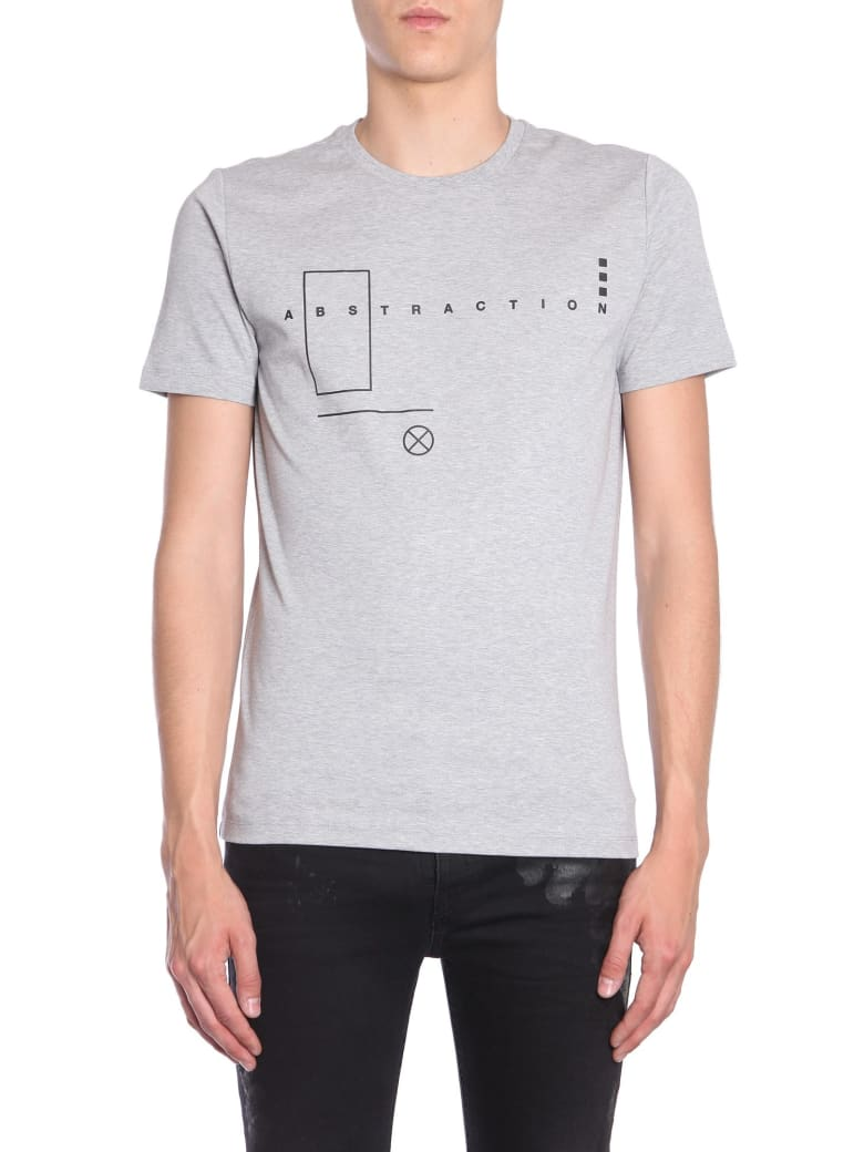 Diesel Black Gold Ty-abstraction T-shirt - GRIGIO