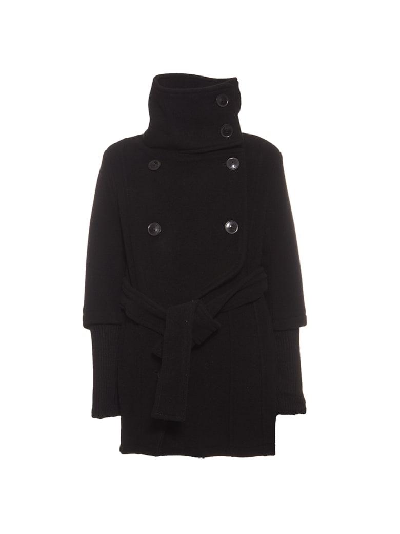 cappotto patrizia pepe nero