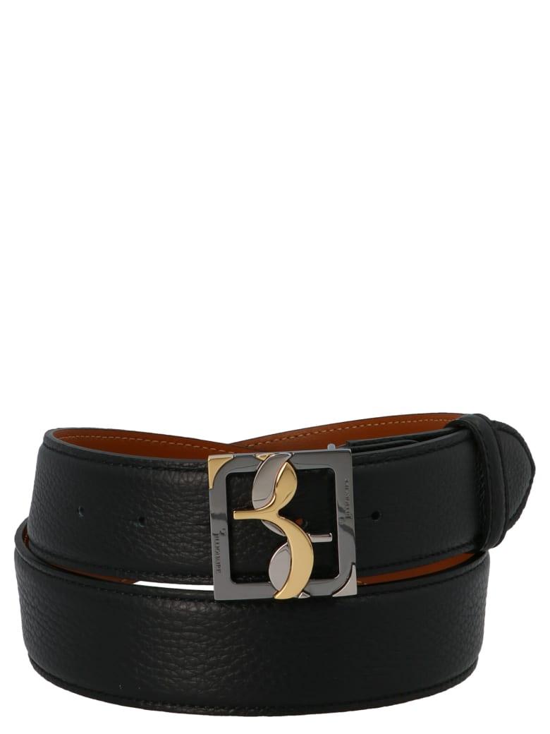 Billionaire 'double B' Belt - Black