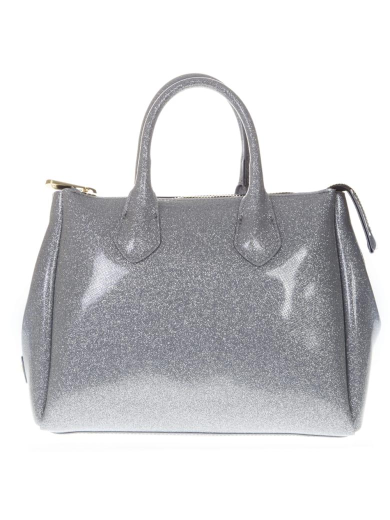 Gianni Chiarini Glossy Silver Gum Bag - Silver