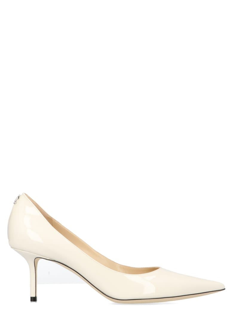 Jimmy Choo 'love' Shoes - White