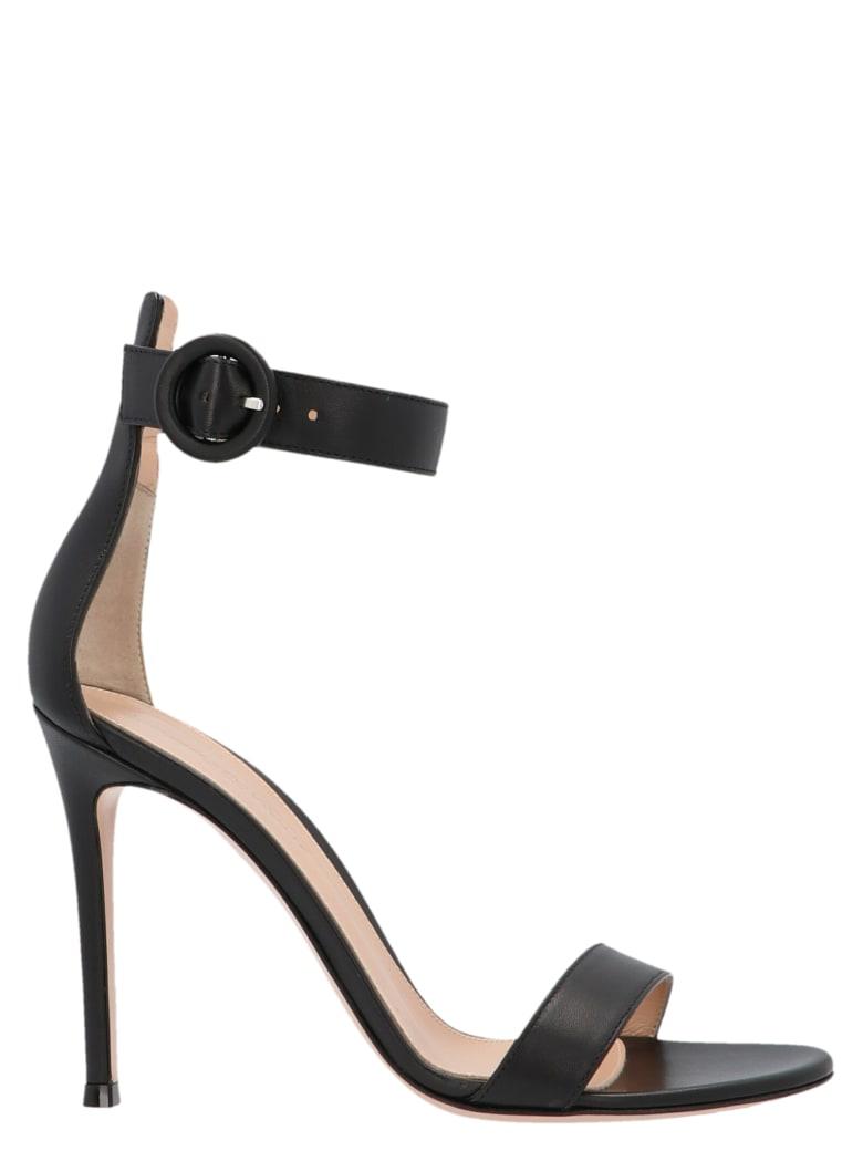 Gianvito Rossi 'portofino' Shoes - Black
