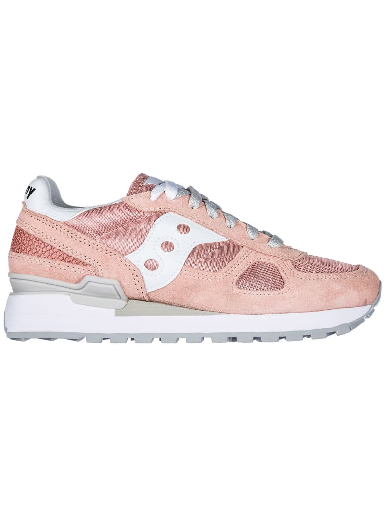 Saucony  Shoes Suede Trainers Sneakers Shadow O - Rose / Gray