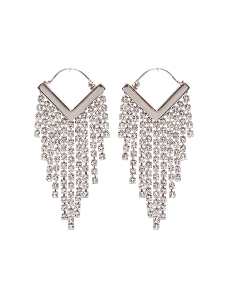 Isabel Marant Swarovski Pendant Earrings - Metallic
