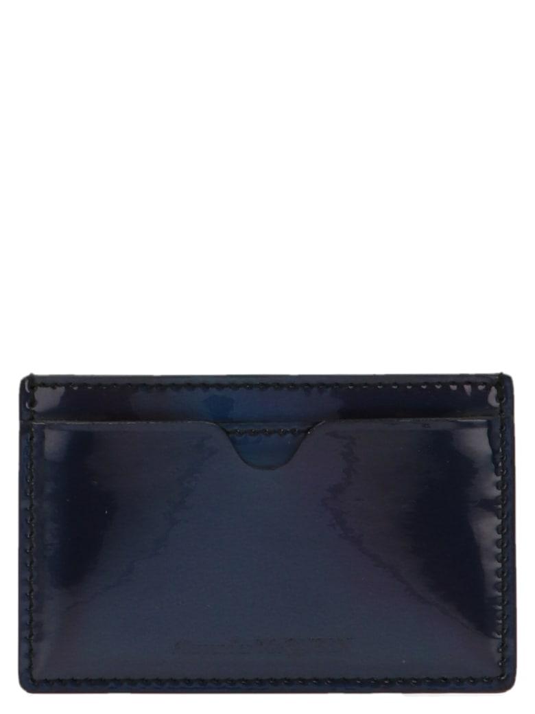 Alexander McQueen 'high Frequency' Cardholder - Silver
