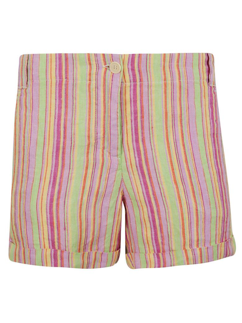 Aspesi Striped Shorts - Multicolor
