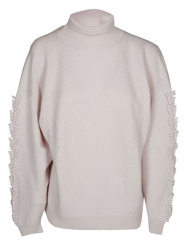Barrie Turtleneck Jumper - LIGHT PINK