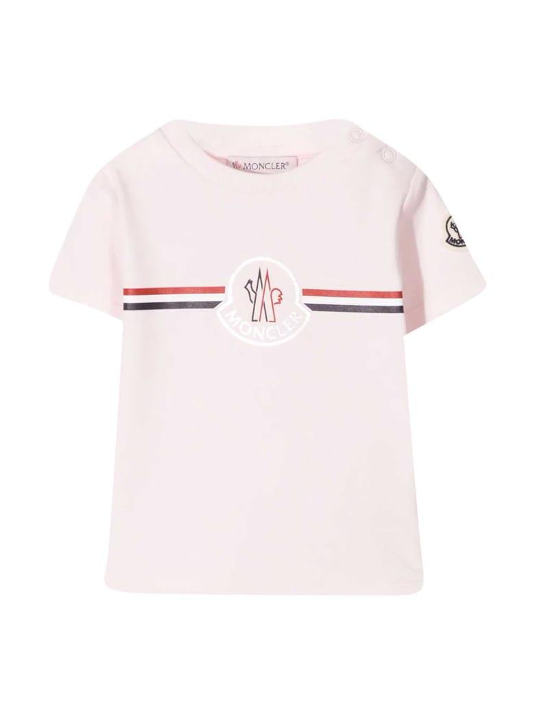 Moncler Pink T-shirt - Rosa
