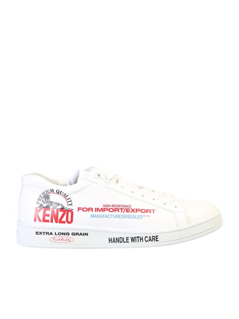 Kenzo Kenzo Tennix Sneakers - White