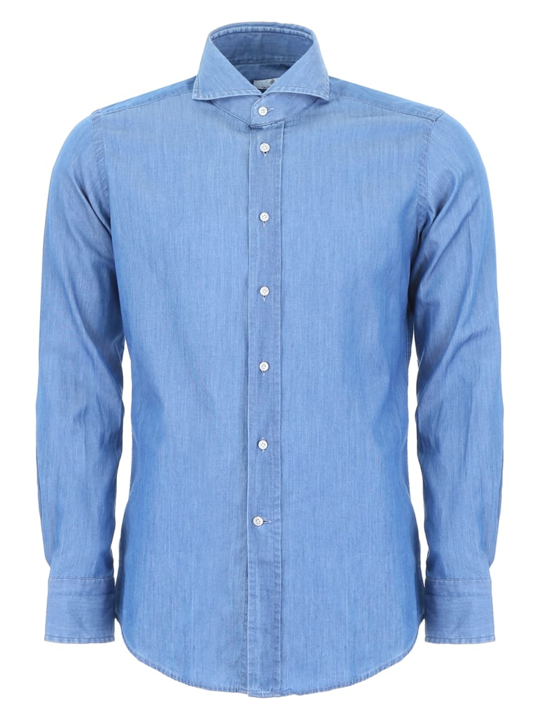 Tagliatore Covent Shirt - DENIM (Light blue)