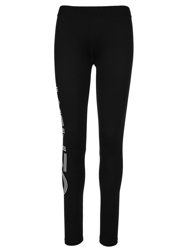 Kenzo Logo Leggings - BLACK