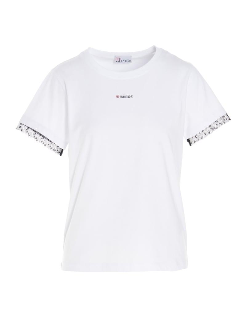 RED Valentino T-shirt - WHITE