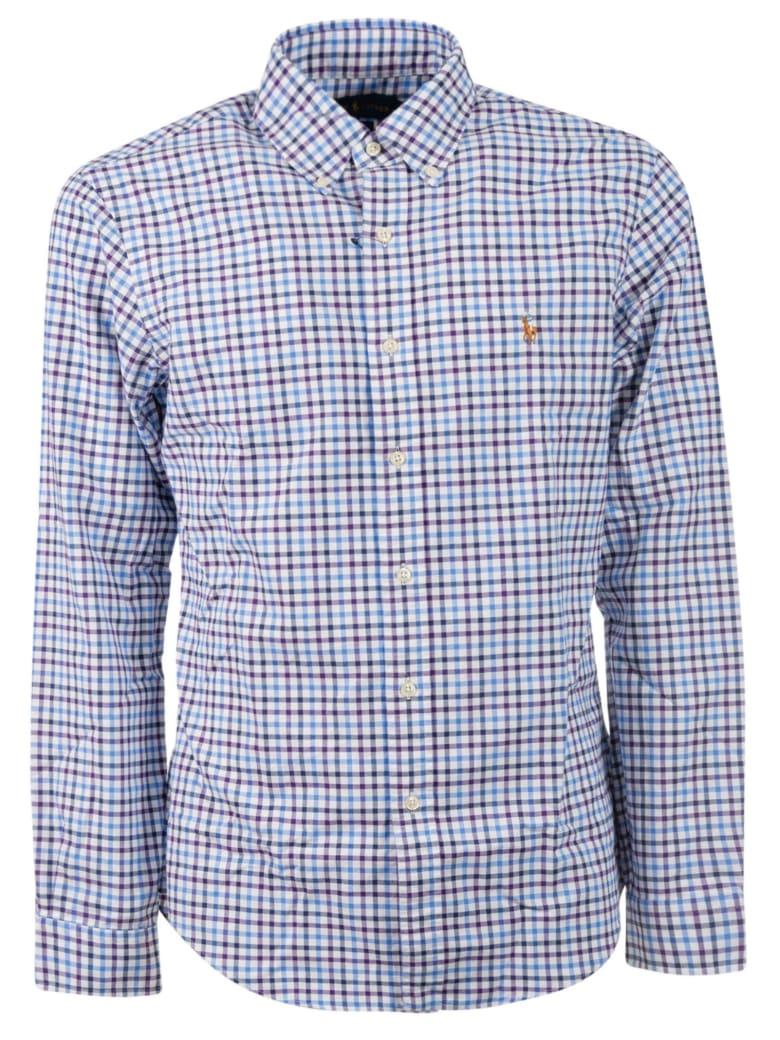 Ralph Lauren Checked Shirt - C Wine Blue Multi