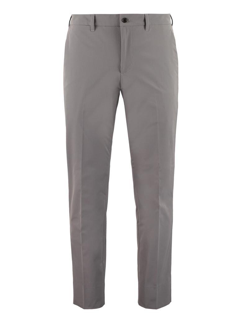 Prada Techno Fabric Tailored Trousers - grey