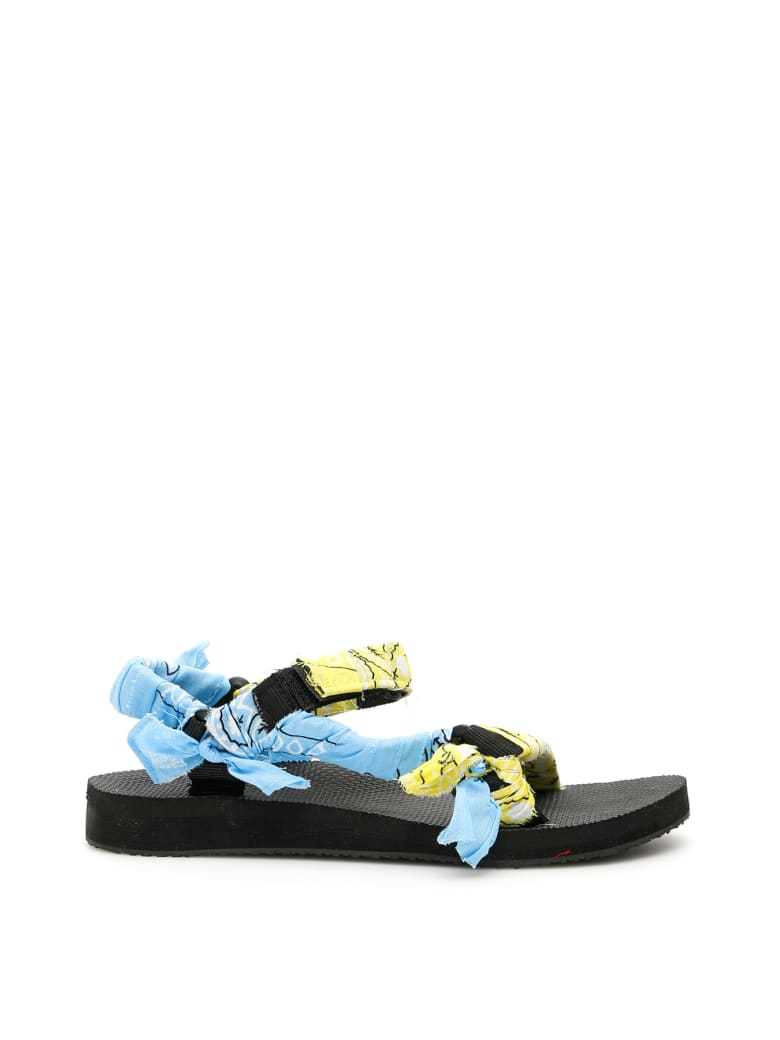 Arizona Love Bandana Trekky Sandals - BI GOUT (Yellow)