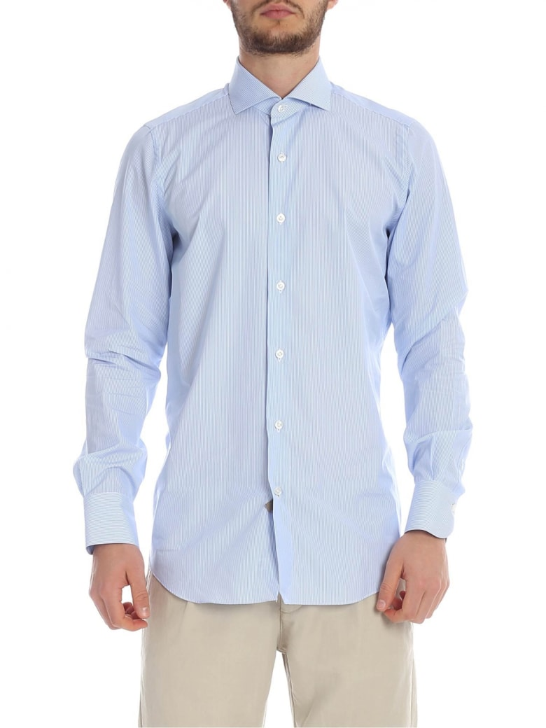 Finamore Cotton Shirt - heavenly