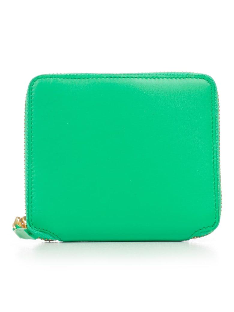 Comme des Garçons Wallet Wallet Medium Classic Leather Line - Green
