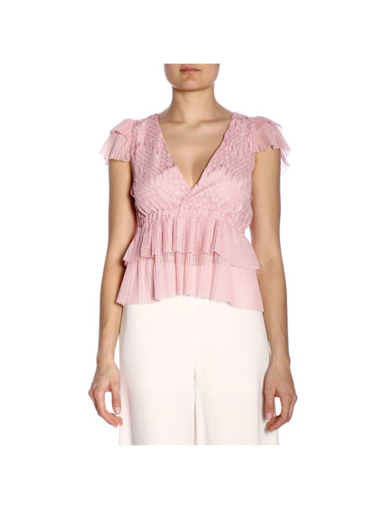 Just Cavalli Top Top Women Just Cavalli - pink