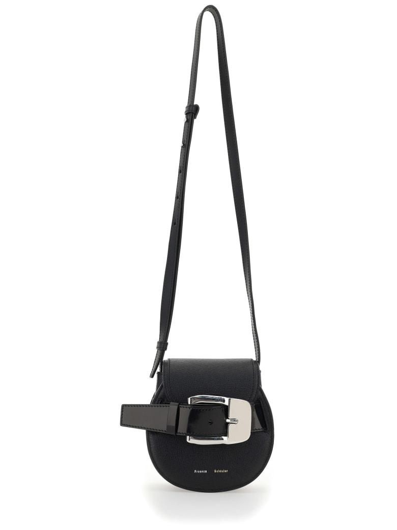 Proenza Schouler Buckle Mini Cross Body Bag - Black