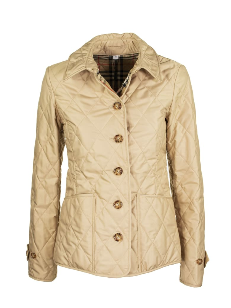 Burberry Diamond Quilted Thermoregulated Jacket - New Chino