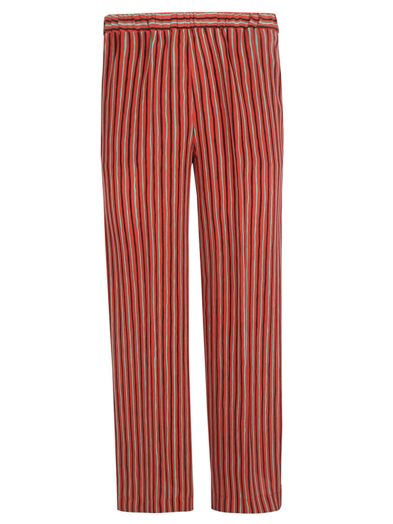 Aspesi Striped Trousers - Fantasy striped