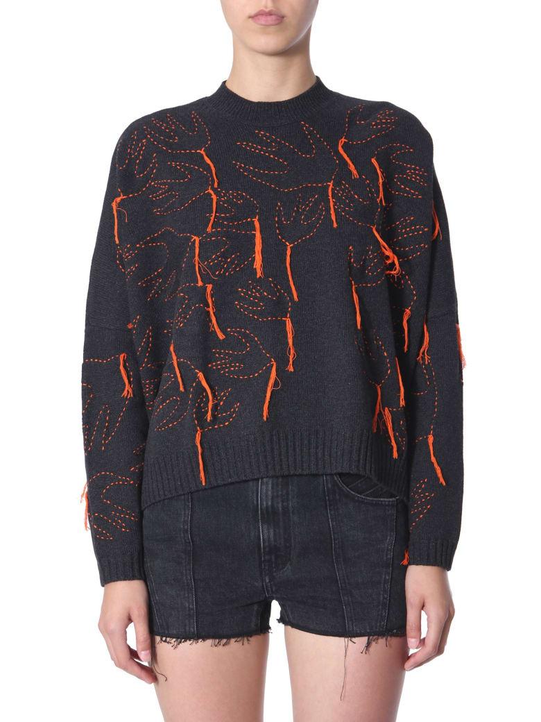 McQ Alexander McQueen Crew Neck Sweater - NERO